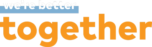We're Better Together Logo