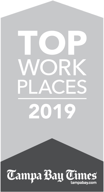 Parallon Best Places to Work Tampa Bay  Logo