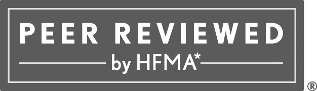 Parallon Peer Reviewed by HFMA Awarad