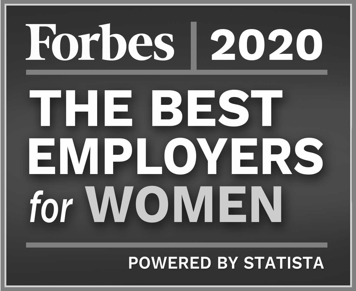 Parallon Forbes Best Places to Work for Women Award