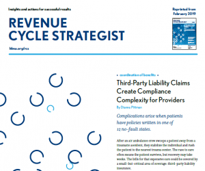 February Revenue Cycle Strategist TPL Claims