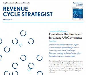 HFMA Revenue Cycle Strategist Legacy A/R