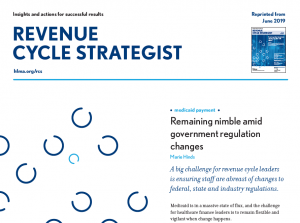 HFMA June Revenue Cycle Strategist Medicaid Eligibility