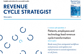 HFMA October Revenue Cycle Strategist
